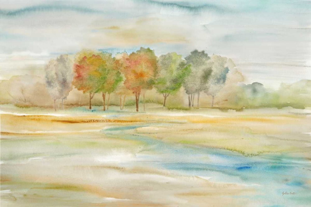 Watercolor Landscape with trees Coulter, Cynthia 143096