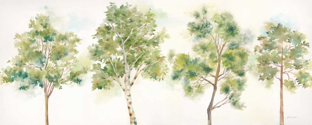 Woodland Trees Panel Landscape Coulter, Cynthia 154584