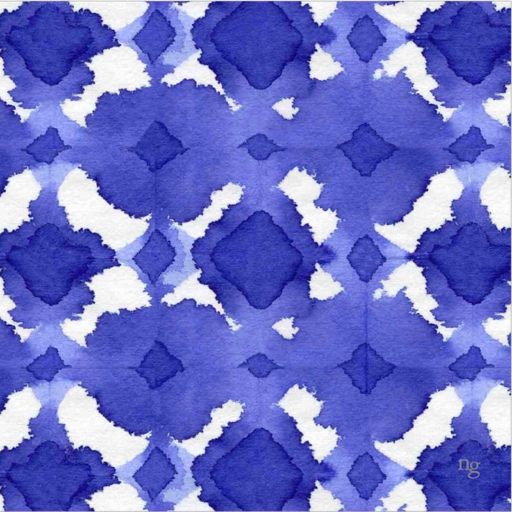 Aquarelle Blue V Nancy Green Design 154638