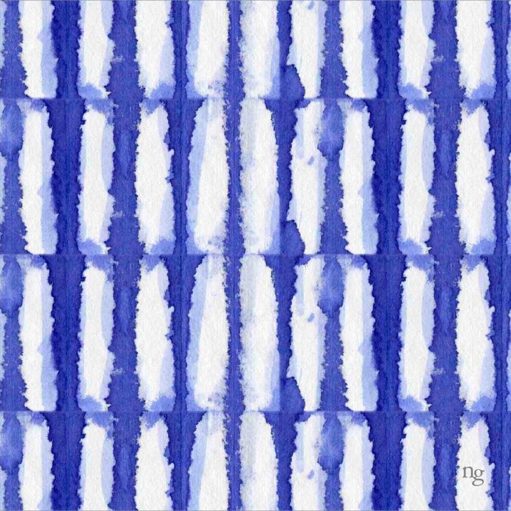 Aquarelle Blue VI Nancy Green Design 154639