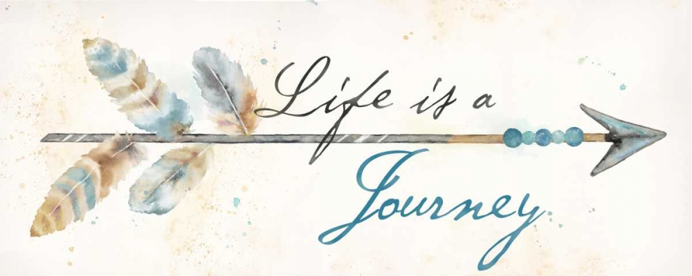 Life Journey I Panel Coulter, Cynthia 154659