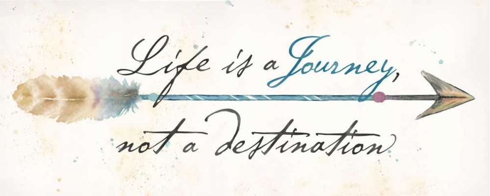 Life Is a Journey Sentiment Panel Coulter, Cynthia 154661