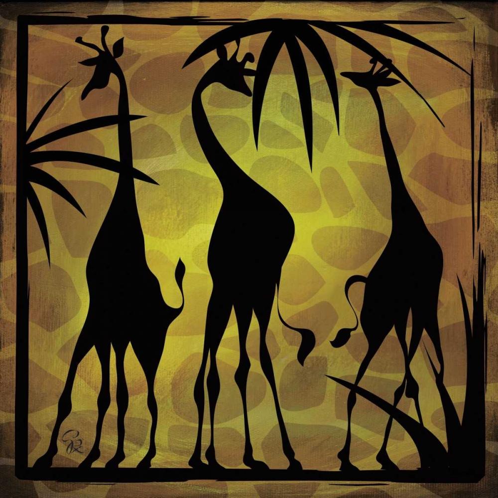 Safari Silhouette III Rivas-Velazquez, Gena 59445