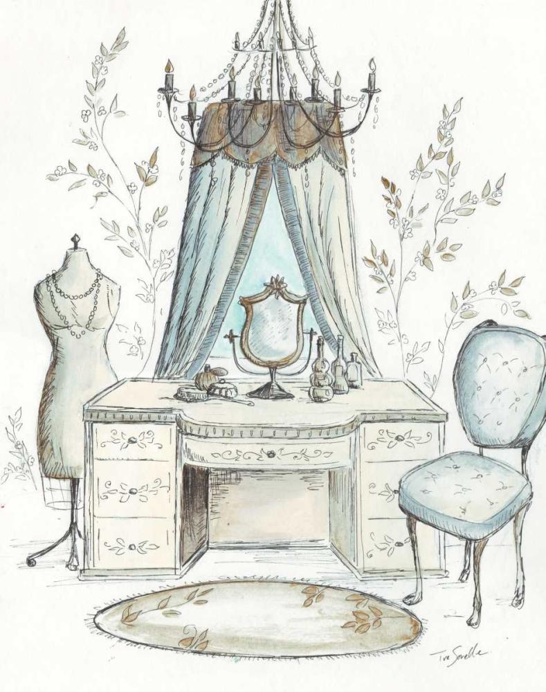 French Dressing Room I Tre Sorelle Studios 59498