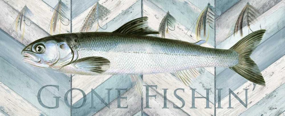 Fishing Sign II Tre Sorelle Studios 59522