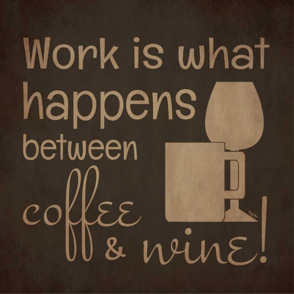Wine and Coffee Sayings I Reed, Tara 53527