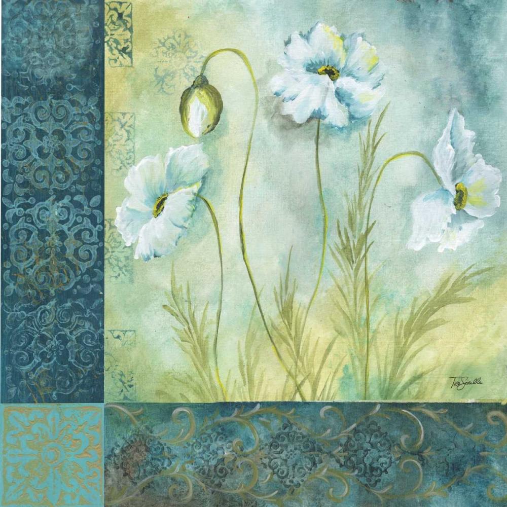 White Poppy Garden I Tre Sorelle Studios 53568