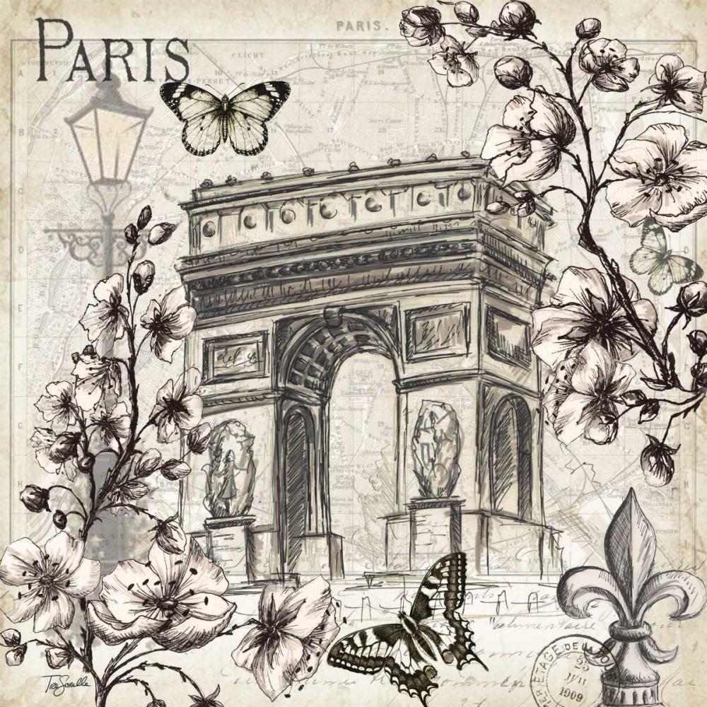 Paris in Bloom II Tre Sorelle Studios 52910