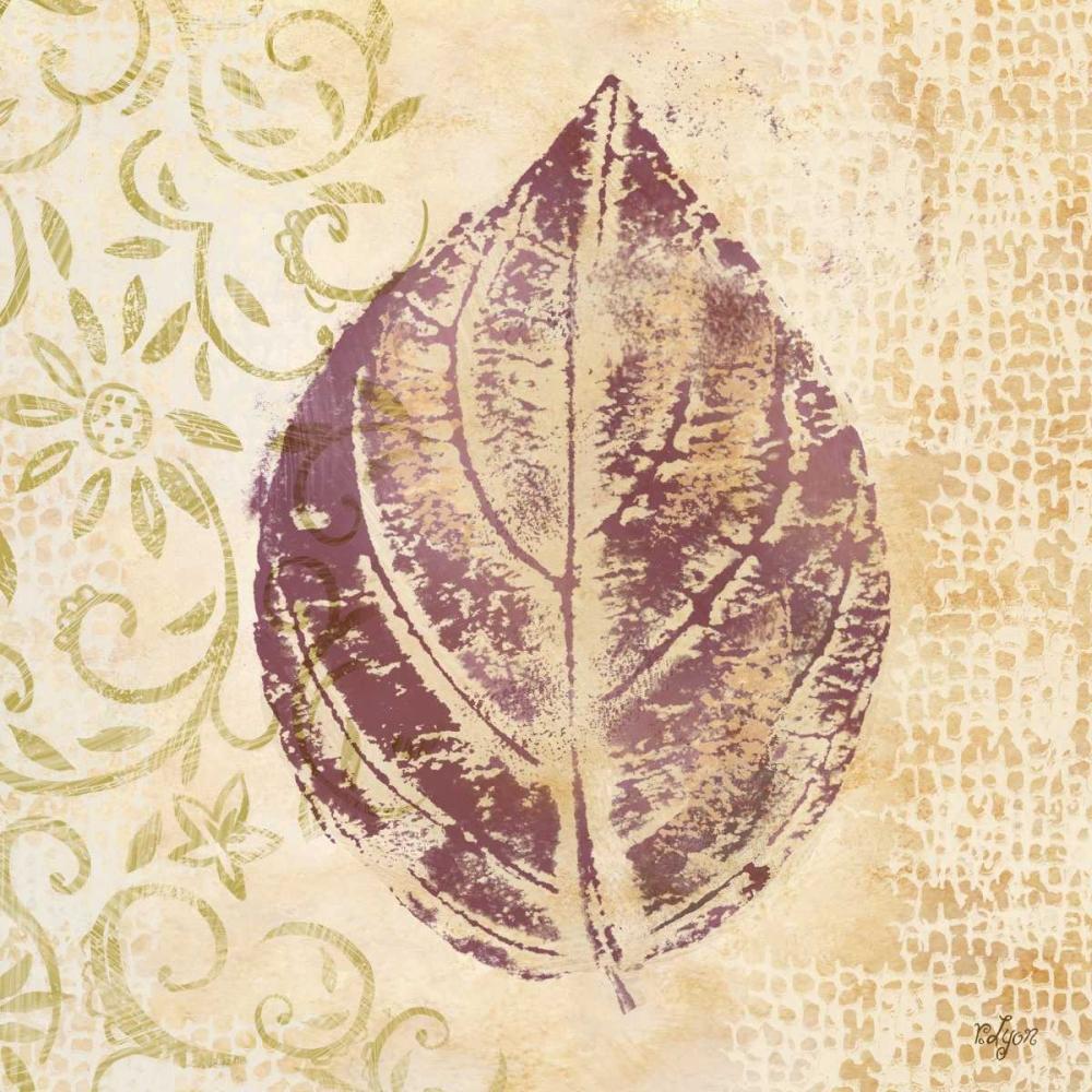 Leaf Scroll III Lyon, Rebecca 52938