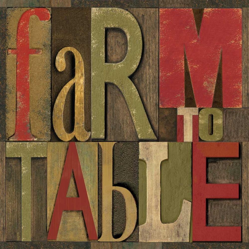 Printers Block Farm To Table I Reed, Tara 52940