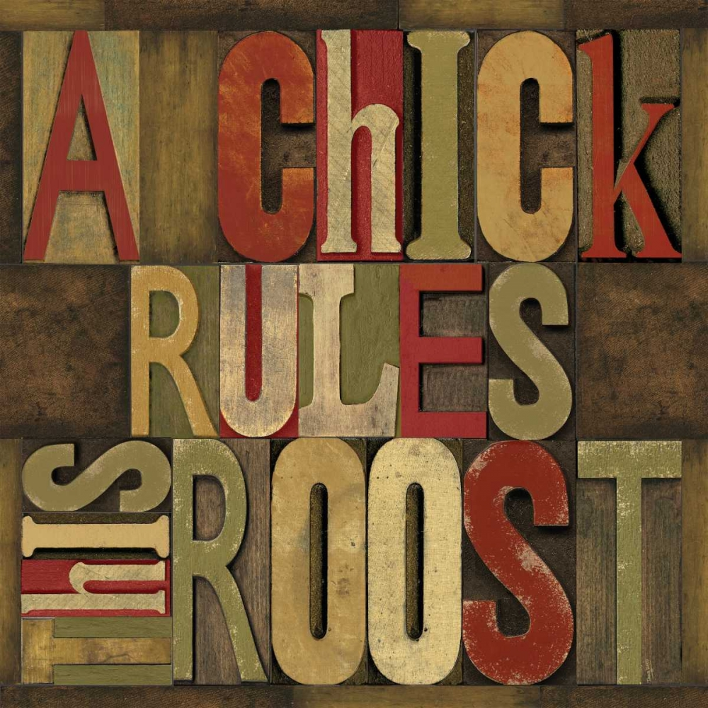 Printers Block Rules This Roost I Reed, Tara 52944