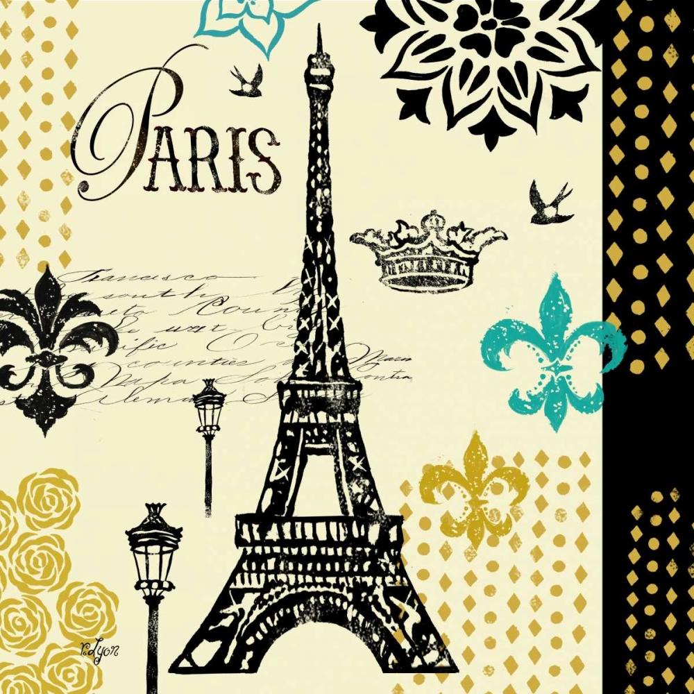Paris Architecture II Lyon, Rebecca 53639