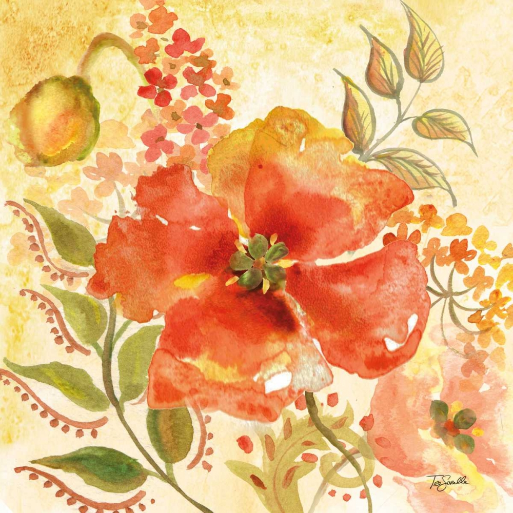 Bohemian Poppies II Tre Sorelle Studios 71826