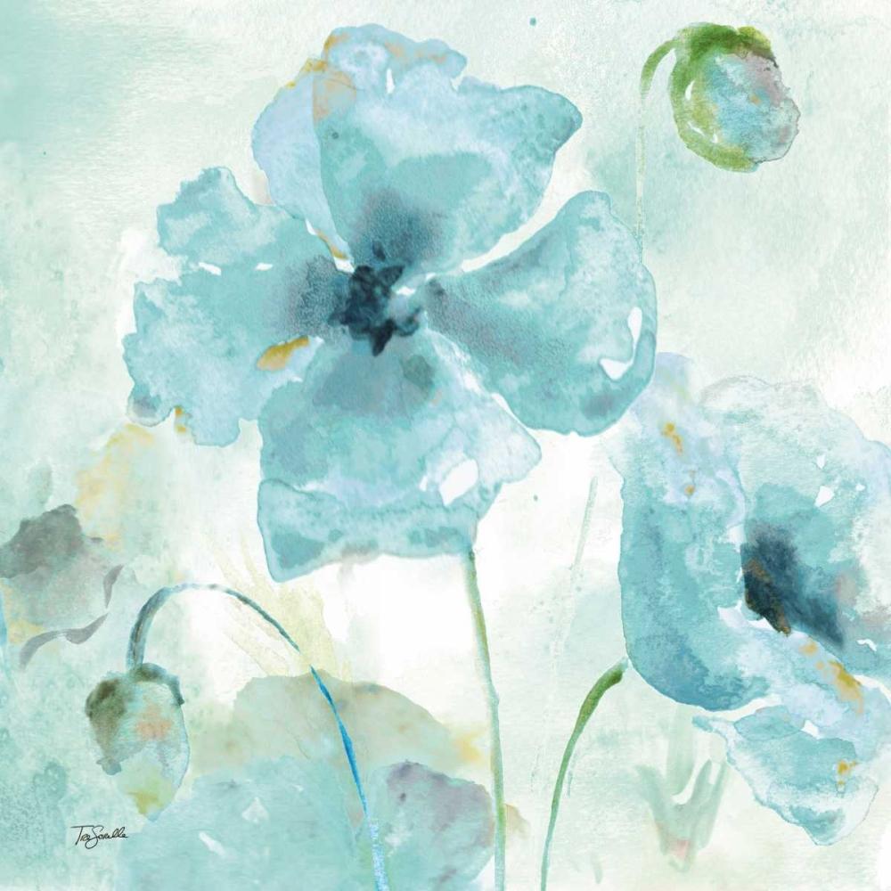 Watercolor Garden Blue I Tre Sorelle Studios 70152
