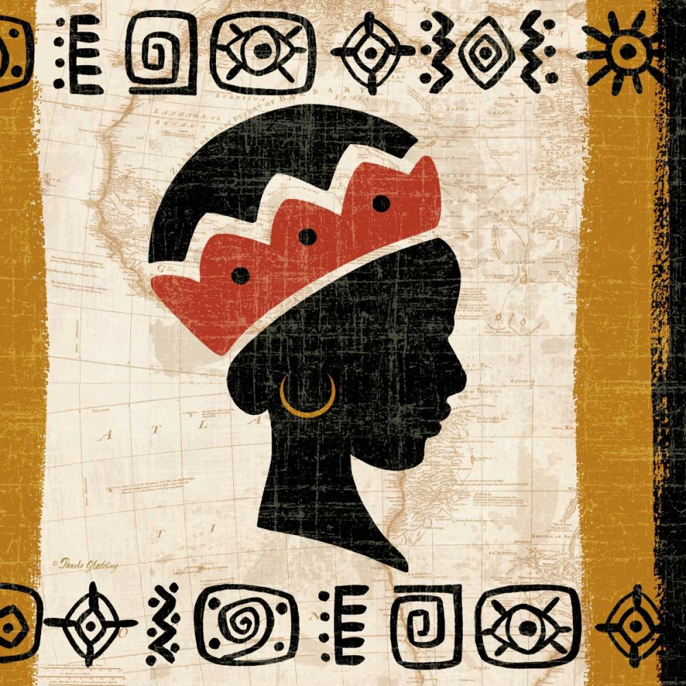 Tribal Beauty I Gladding, Pamela 70181