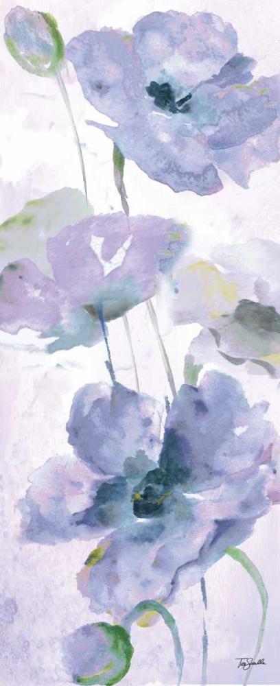 Watercolor Garden Purple Panel II Tre Sorelle Studios 78002