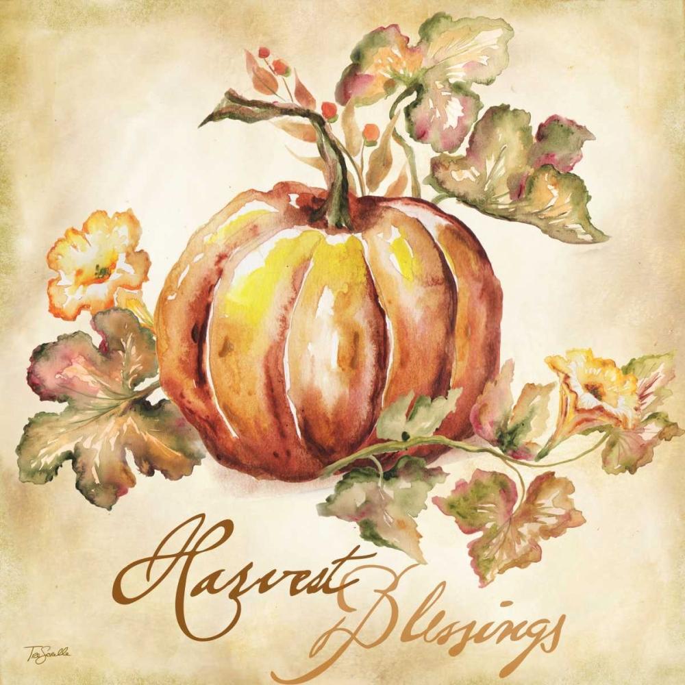Watercolor Harvest III Tre Sorelle Studios 78093