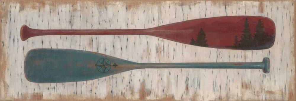 Paddles on Birchbark Fisk, Arnie 56317