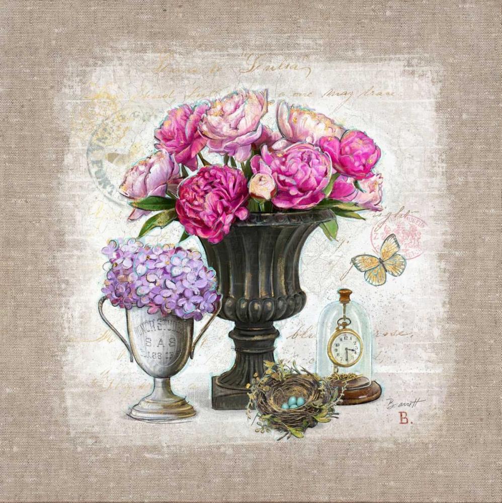 Vintage Estate Florals 1 Barrett, Chad 87277
