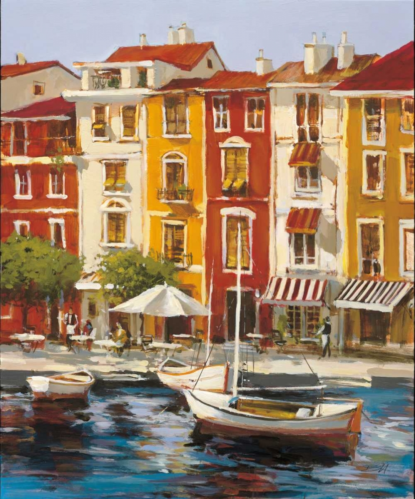 Mediterranean Waterfront I Heighton, Brent 56002