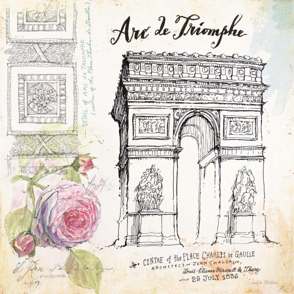 France Sketchbook Staehling, Angela 59136