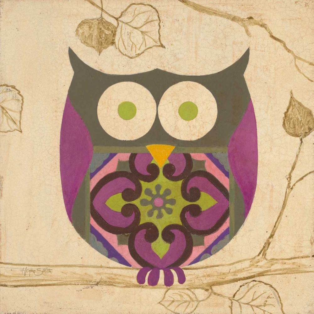 Green Boho Owl Smith, Hope 137538