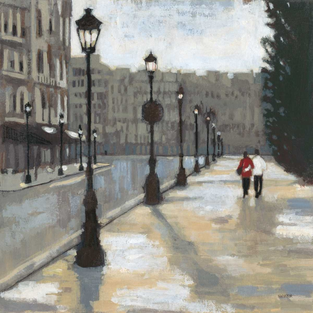 Cloudy Day in Paris 2 Wyatt, Norman Jr. 60576