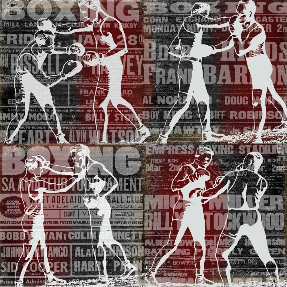 Epic Boxer Story Robertson, Walter  59664