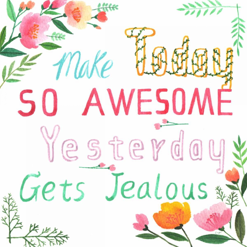 Make Today Awesome Lings Workshop 105686