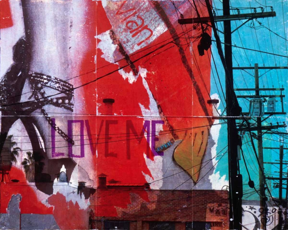 Urban Collage Love Me Fainelli, Deanna 62829