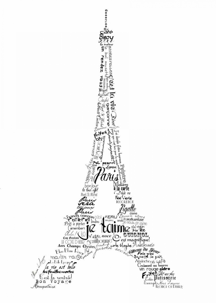 As The French Say-Eiffel Tower De Lauzun, Marion  56159