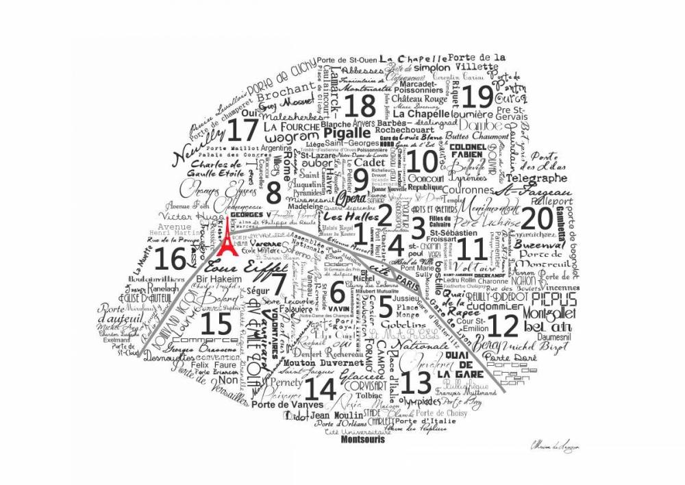 As The French Say-Map De Lauzun, Marion  61920