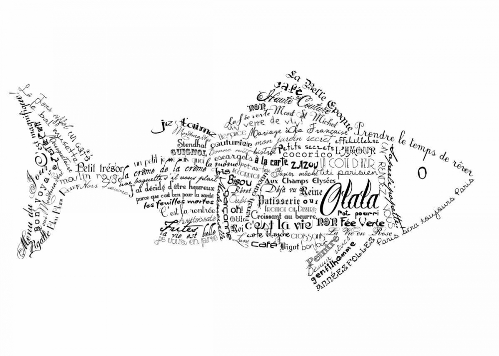 As The French Say-Fish De Lauzun, Marion  61925
