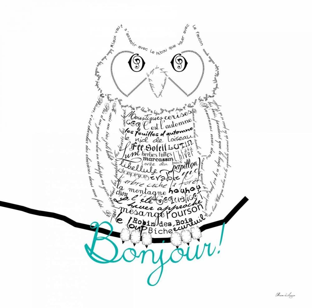 Bonjour Owl De Lauzun, Marion  61935