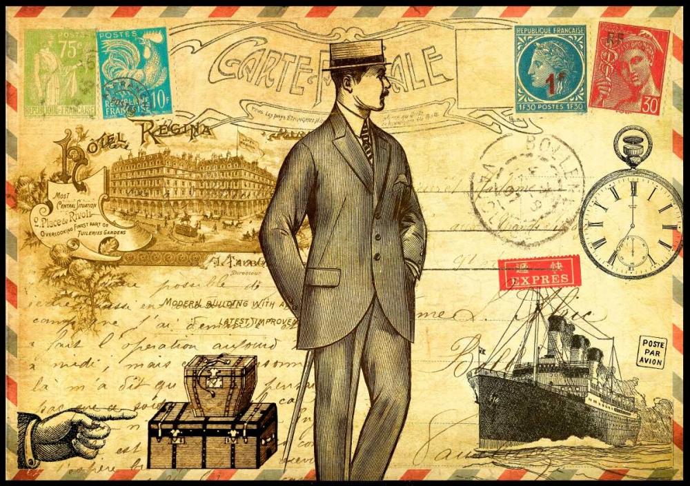 Vintage Paris Postcard Monsieur De Lauzun, Marion  61943