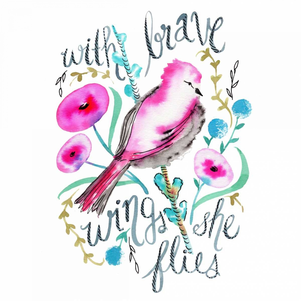 With Brave Wings She Flies Esther Bley Designs  142214