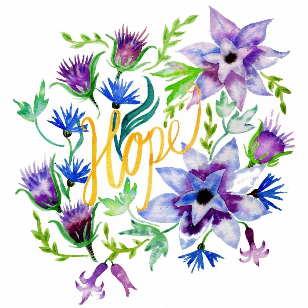 Hope, Enchanted Garden Esther Bley Designs  142277