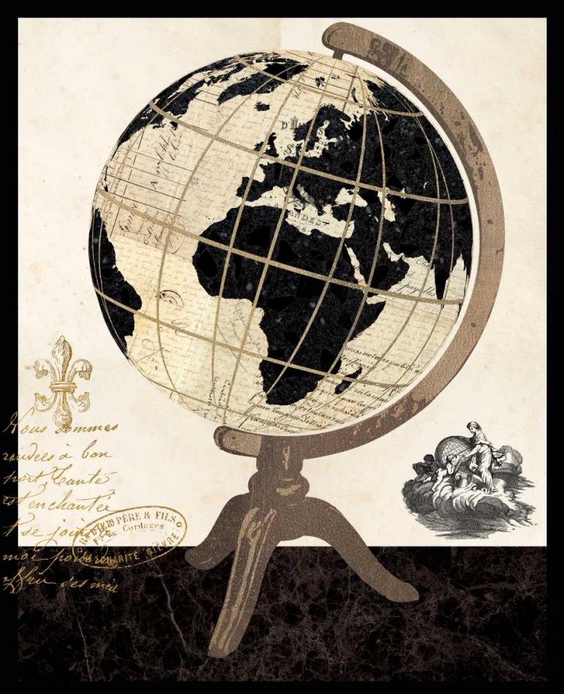 Vintage French Globe Ross, Devon 59299