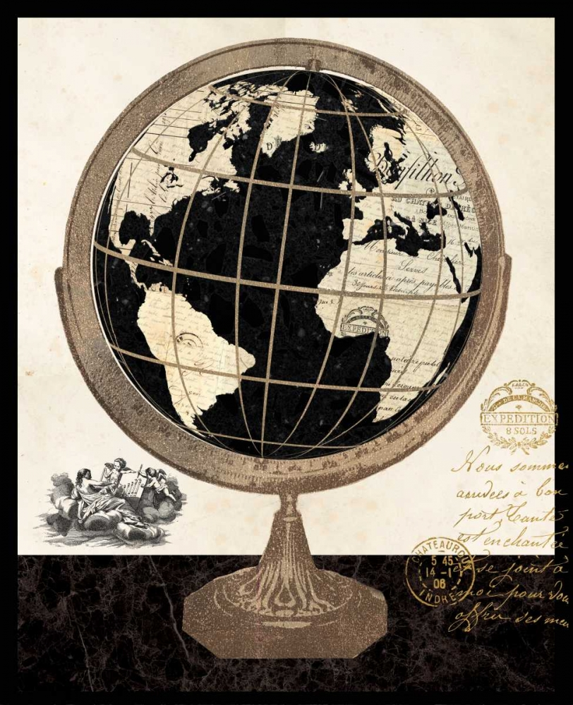 Antique French Globe Ross, Devon 59300