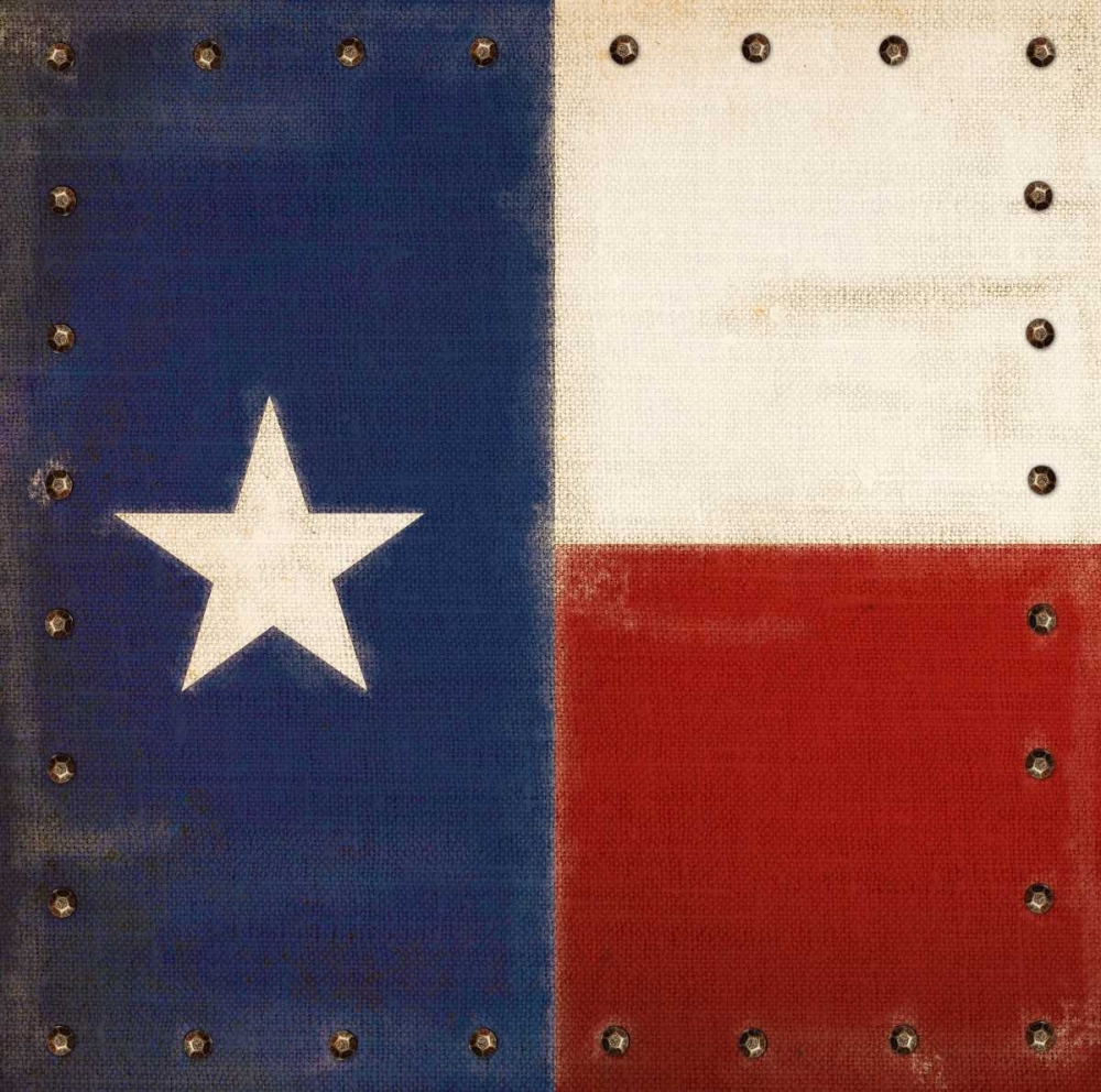 Vintage Texas Flag Appleman, Sam 63442