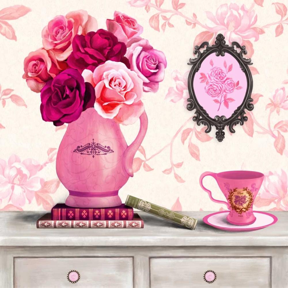 Parisian In Pink 3 Art Atelier Alliance 66317