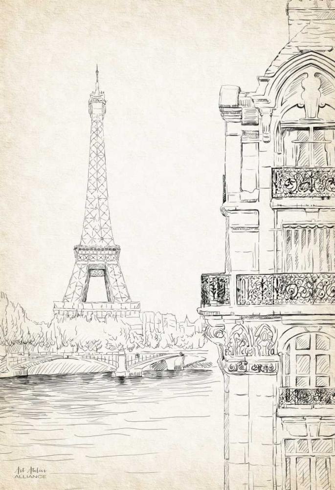 Paris Sketch Book Art Atelier Alliance 66382