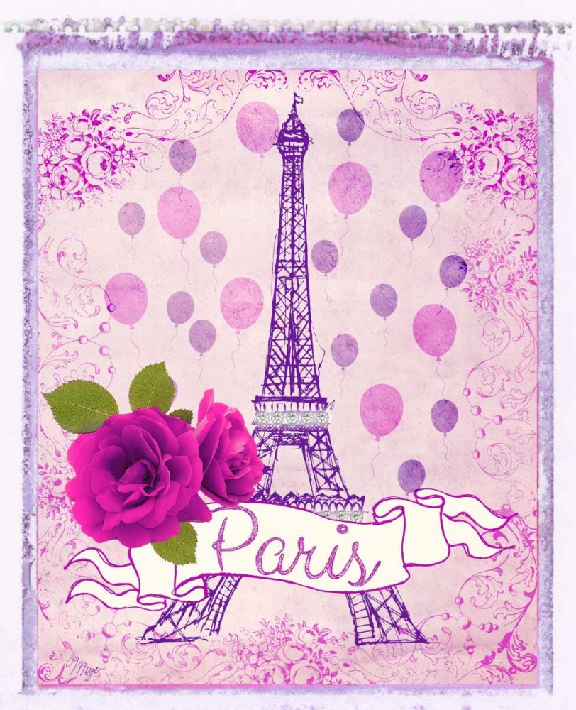 Pretty Paris Polaroid 1 Amori, Miyo 65349