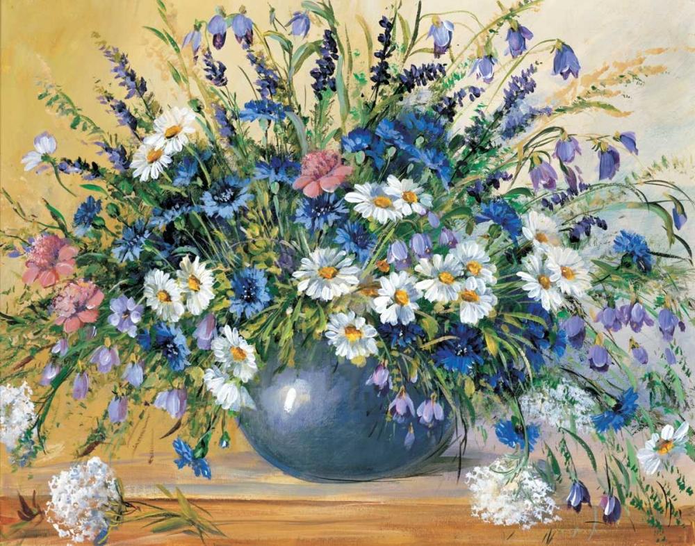Vase with cornflowers Paleta, Anna 57805