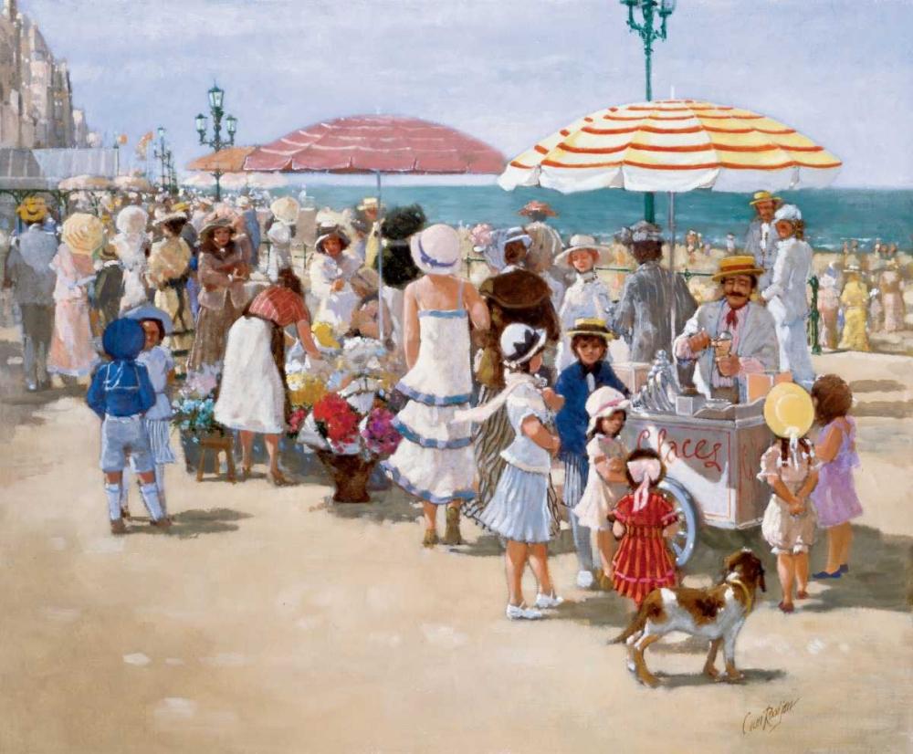 Beach old times III van Rooijen, Carel 57888