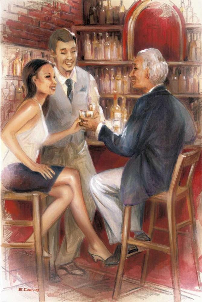 Bar conversations III Denis, E 57918