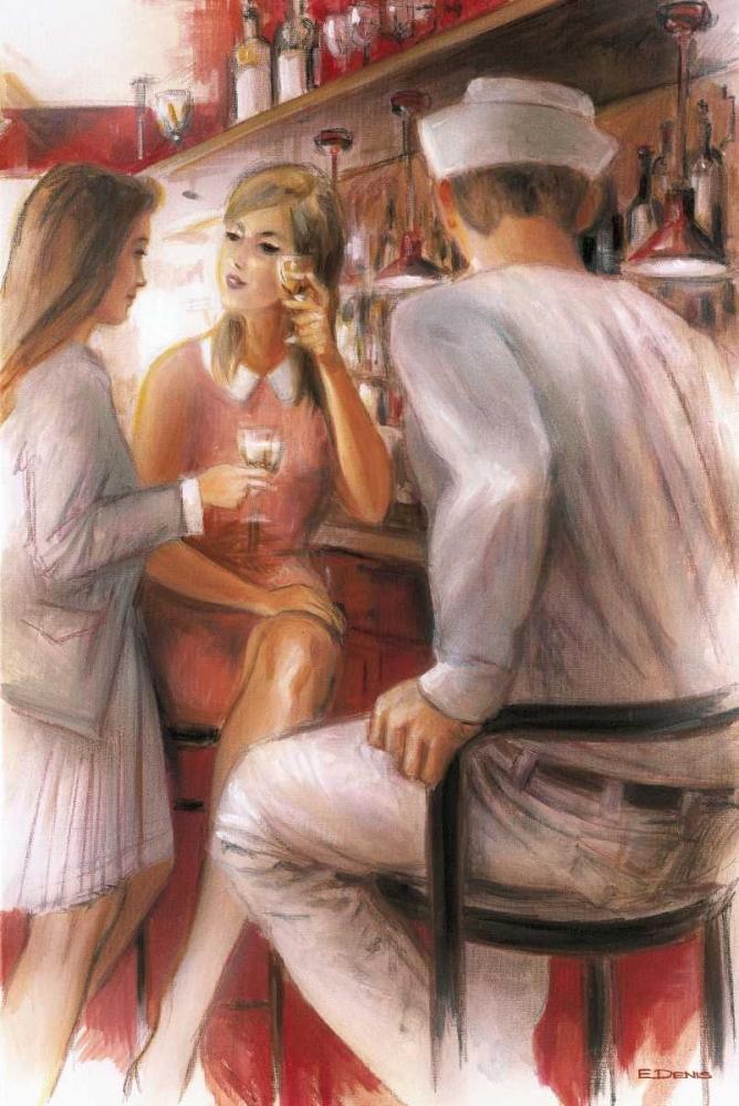 Bar conversations IV Denis, E 57919