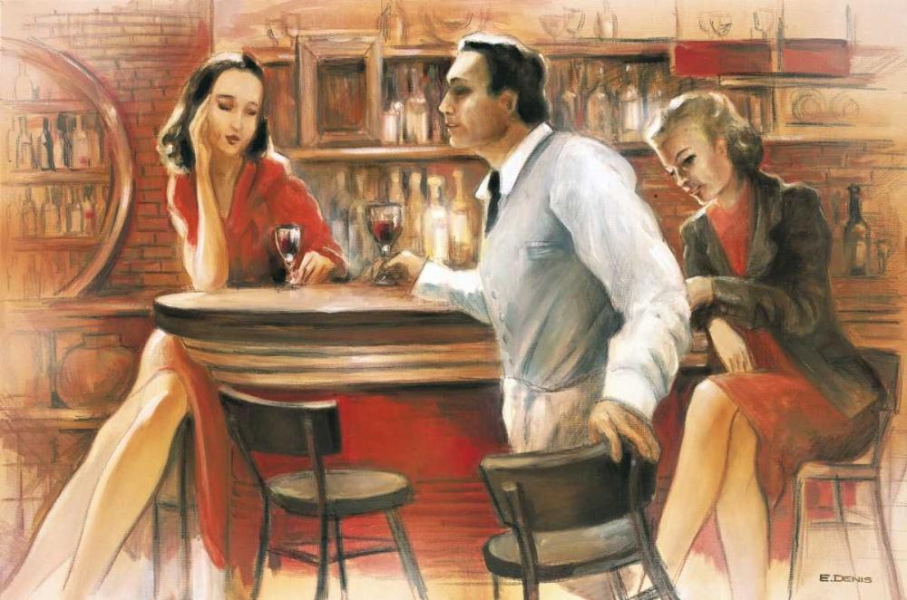 Bar conversations VI Denis, E 57921