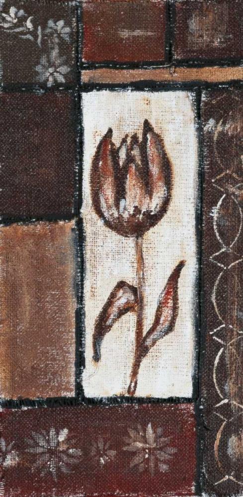 Floral brown II Elki,O 57952