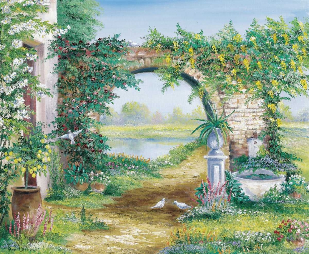 Let the garden go Withaar, Rian 58011